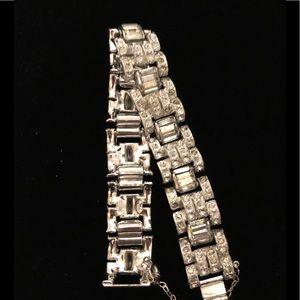 Jewelry - Silverplate & CZ Bracelet